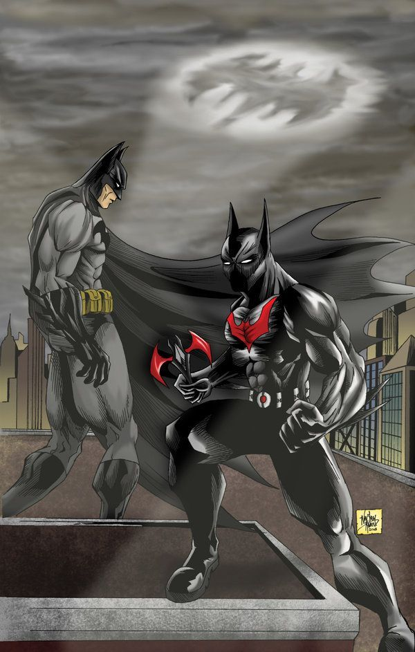 Batman_The_Present_The_Future_by_One_Beyond